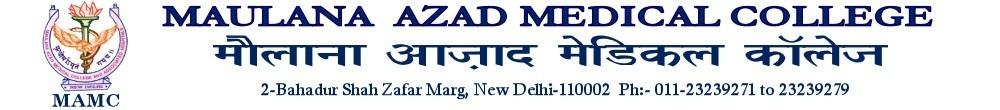 Maulana Azad Medical College (MAMC)  - Delhi