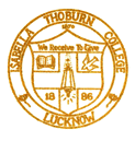 Isabella Thoburn College Lucknow logo