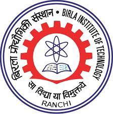 BIT Mesra Department of Computer Science and Engineering